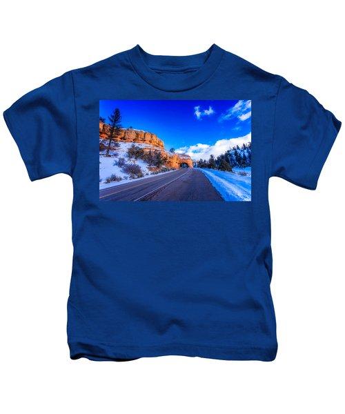 Red Canyon Usa Kids T-Shirt