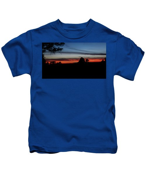 Red Sunset Strip Kids T-Shirt