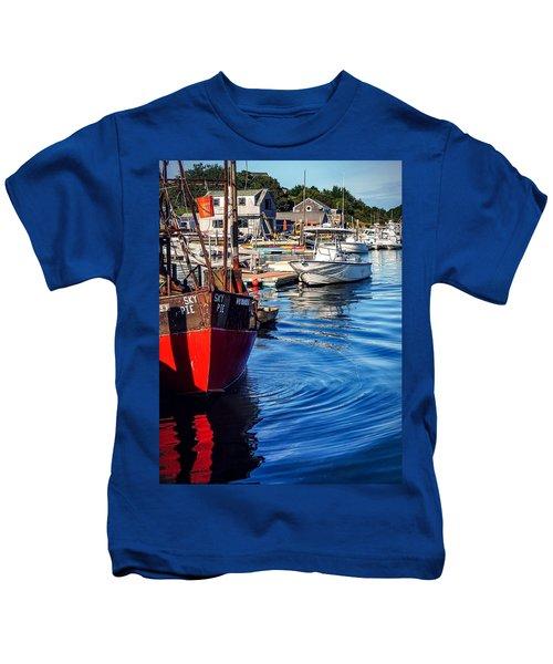 Red White Blue Kids T-Shirt