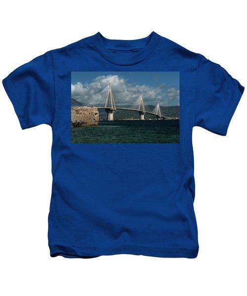 Rio-andirio Hanging Bridge Kids T-Shirt