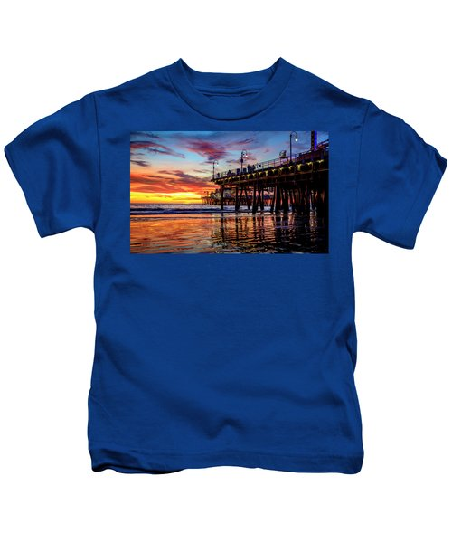 Ripples And Reflections Kids T-Shirt