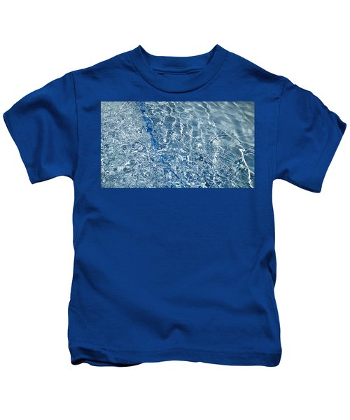 Ripples Of Summer Kids T-Shirt