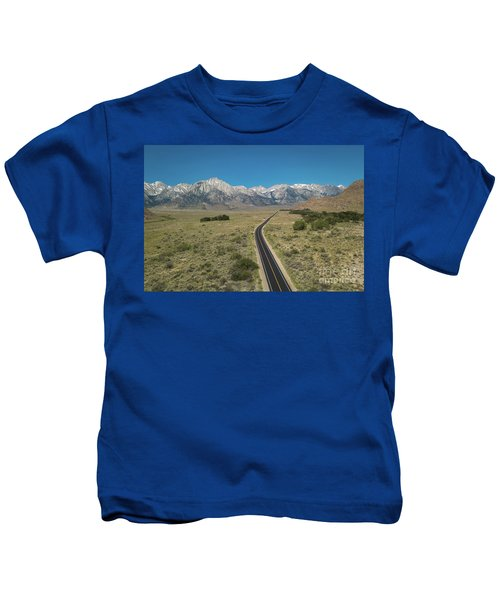 Road To Sierra  Kids T-Shirt