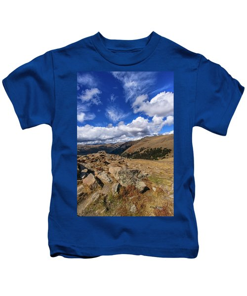 Rocky Mountain National Park Colorado Kids T-Shirt