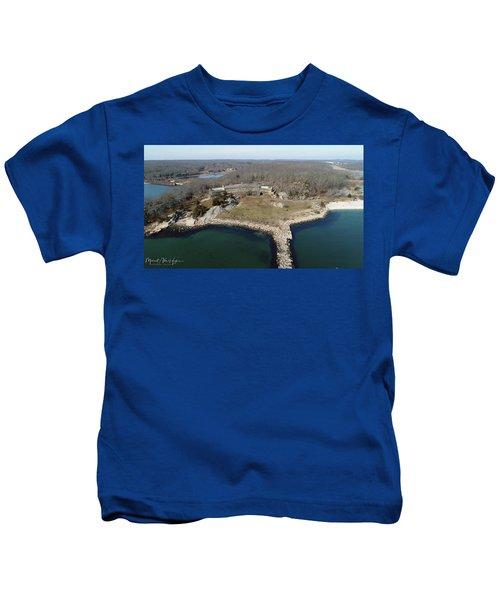 Rocky Neck Paviliion Kids T-Shirt