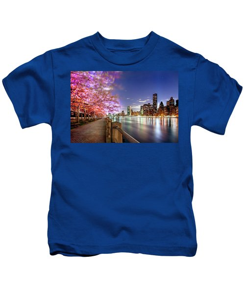 Romantic Blooms Kids T-Shirt