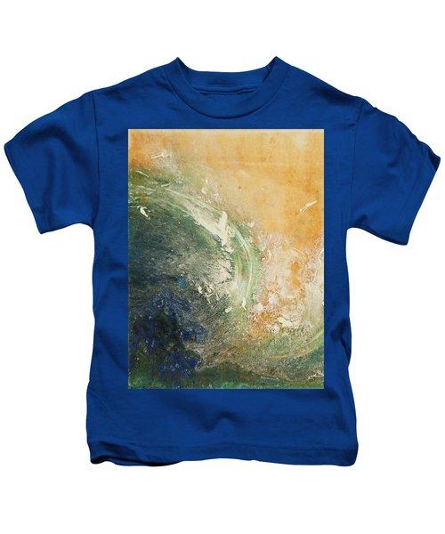 Rugged Coast Aerial View Kids T-Shirt