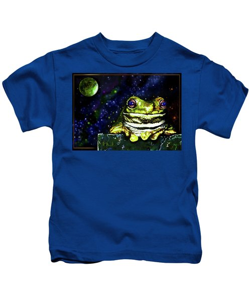 Ruler Of The Cosmos  Kids T-Shirt
