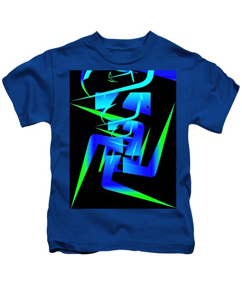 Running Man Kids T-Shirt