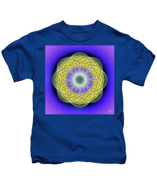 Sacred Geometry 655 Kids T-Shirt