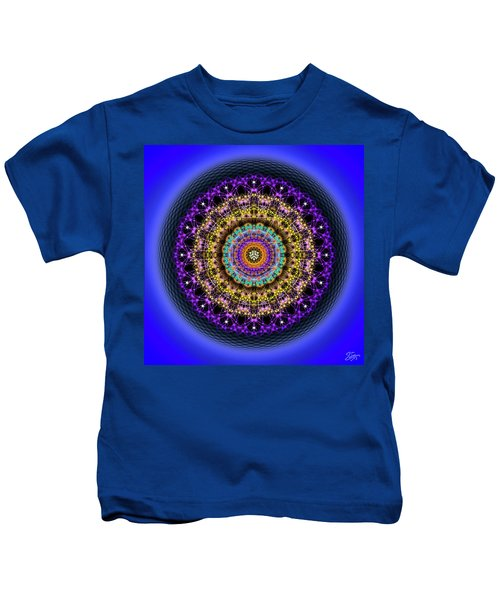 Sacred Geometry 708 Kids T-Shirt