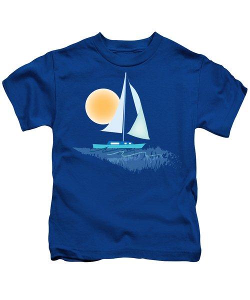 Sailing Day Kids T-Shirt