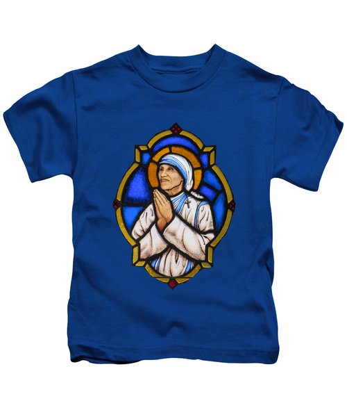 Saint Mother Theresa Of Calcutta Kids T-Shirt