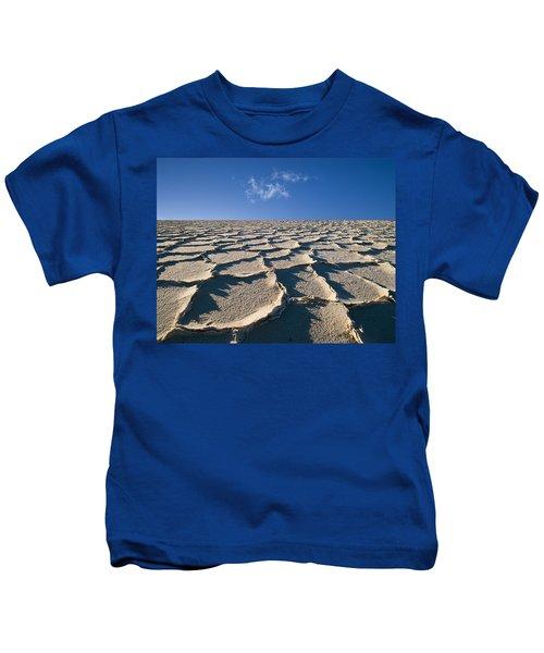 Salt Flats Death Valley National Park Kids T-Shirt