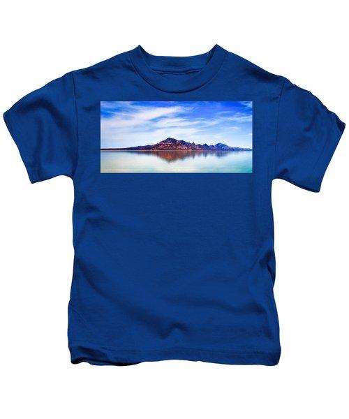 Salt Lake Mountain Kids T-Shirt