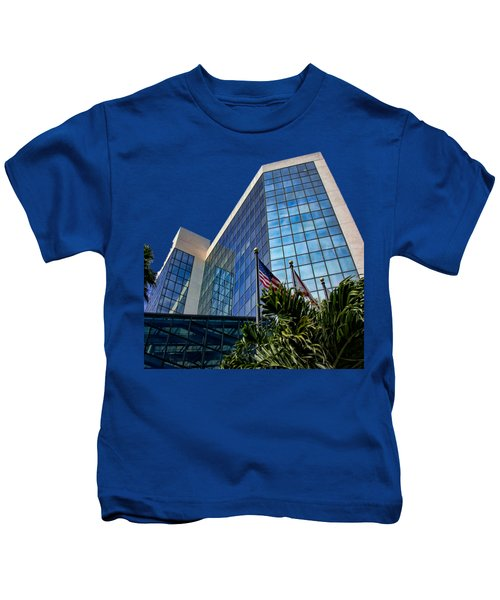 Sarasota Architecture Glass Transparency Kids T-Shirt