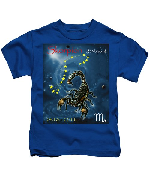Scorpius And The Stars Kids T-Shirt