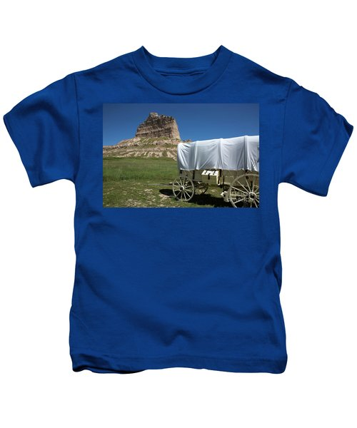 Scotts Bluff National Monument Nebraska Kids T-Shirt