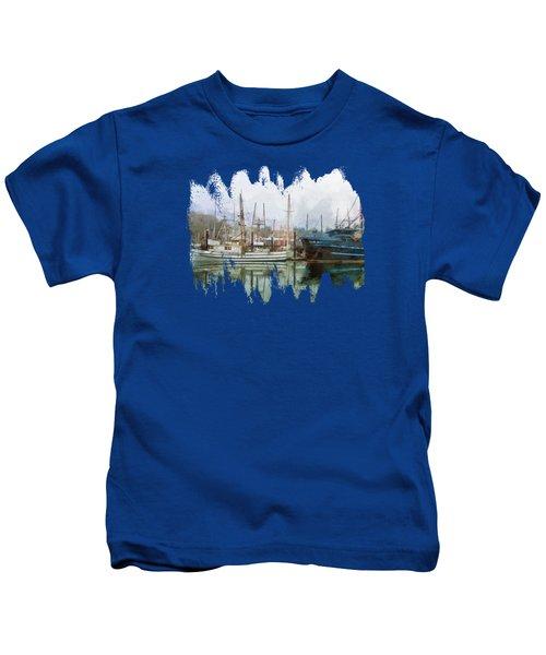 Sea Breeze And Lady Law Kids T-Shirt