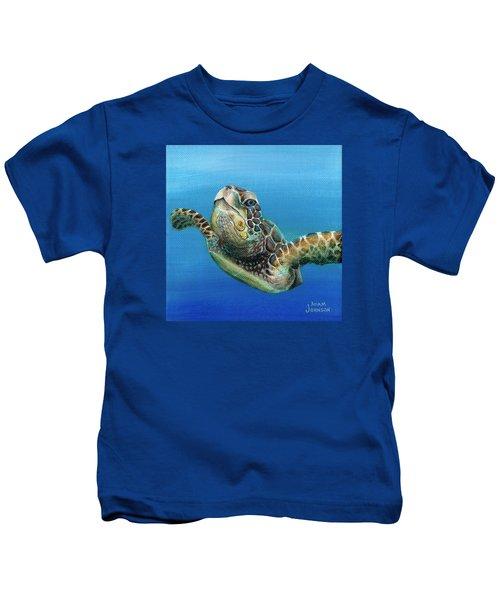 Sea Turtle 3 Of 3 Kids T-Shirt