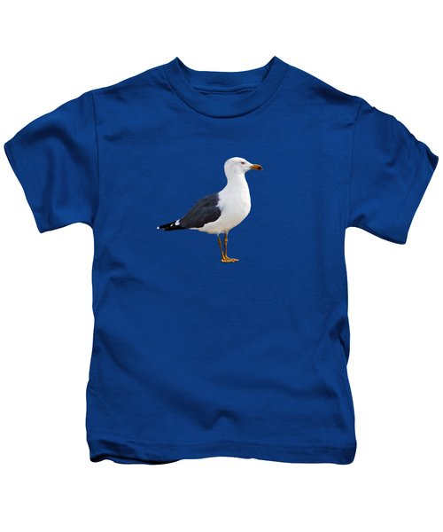 Seagull Portrait Kids T-Shirt