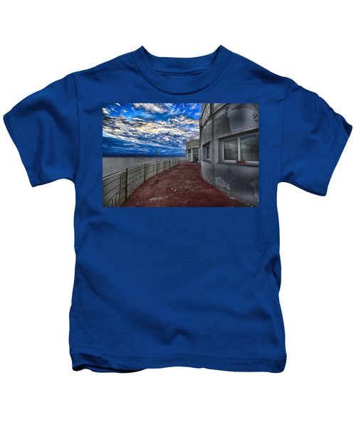 Seascape Atmosphere - Atmosfera Di Mare Kids T-Shirt