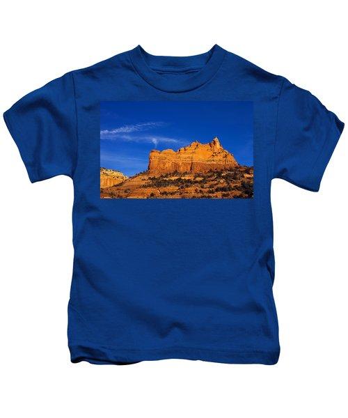 Sedona Smoke Signals Kids T-Shirt