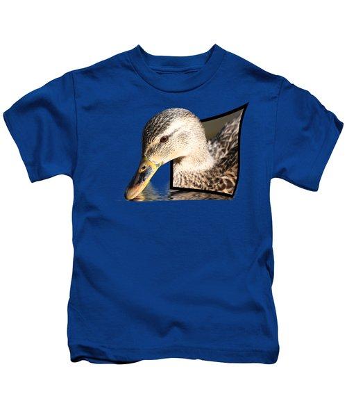 Seeking Water Kids T-Shirt by Shane Bechler