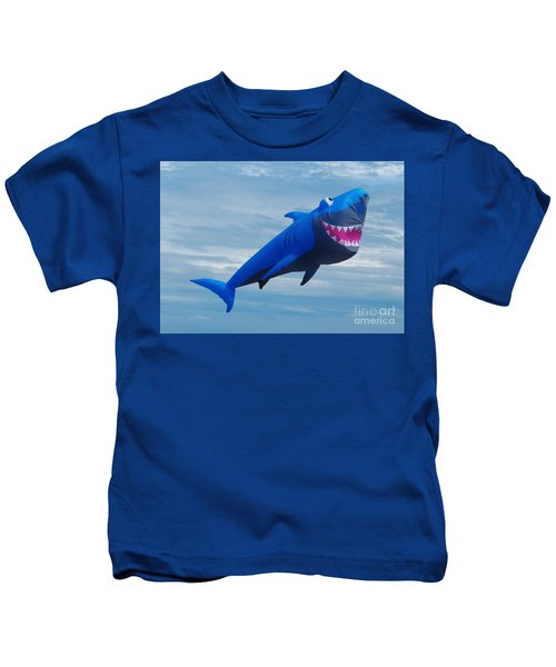 Shark Kite Flight Kids T-Shirt
