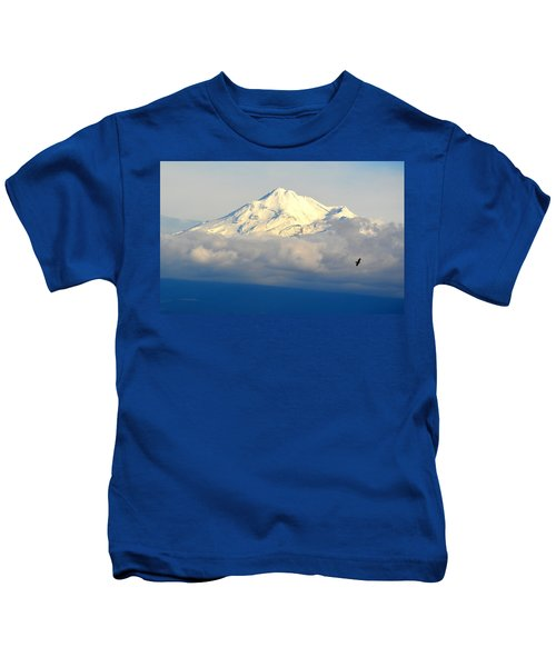 Shasta Near Sunset Kids T-Shirt