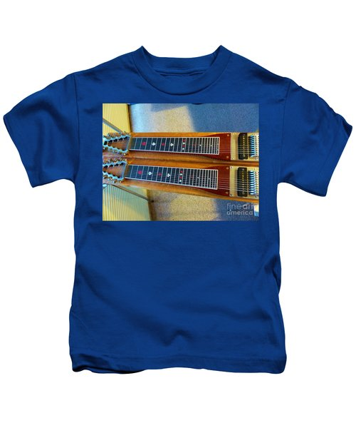 Sho-bud Pedal Steel Kids T-Shirt