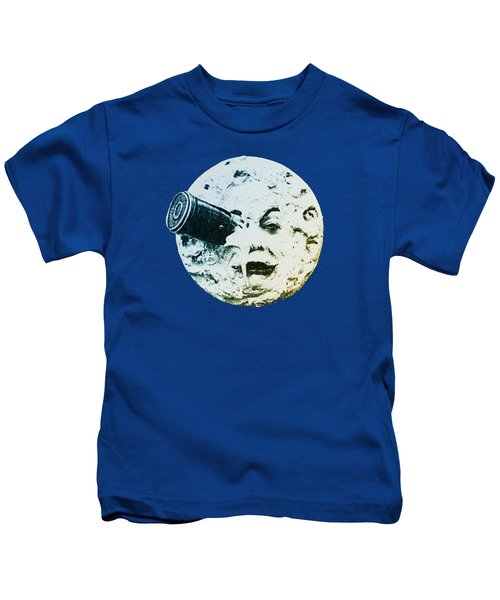 Shoot The Moon Kids T-Shirt