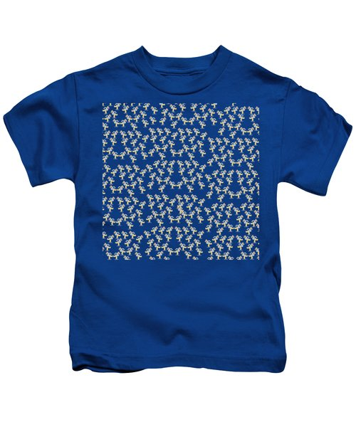 Skaters Pattern Kids T-Shirt