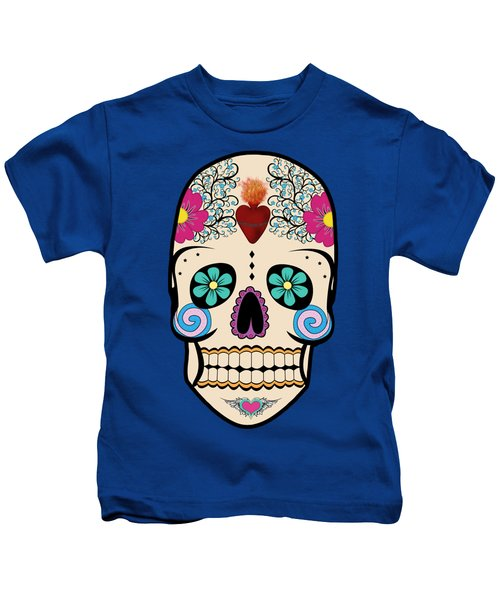 Skeleton Keyz Kids T-Shirt by LozMac