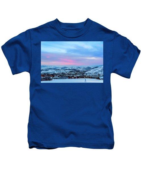 Ski Town Kids T-Shirt