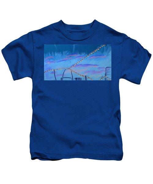 Sky Lights Kids T-Shirt