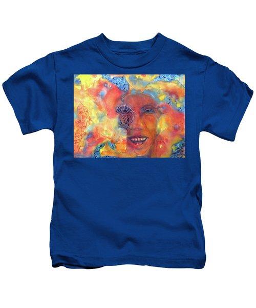 Smiling Muse No. 2 Kids T-Shirt