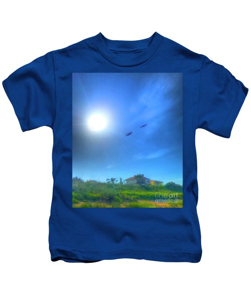Soar Into The Light Kids T-Shirt