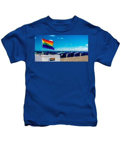 South Beach Pride Kids T-Shirt