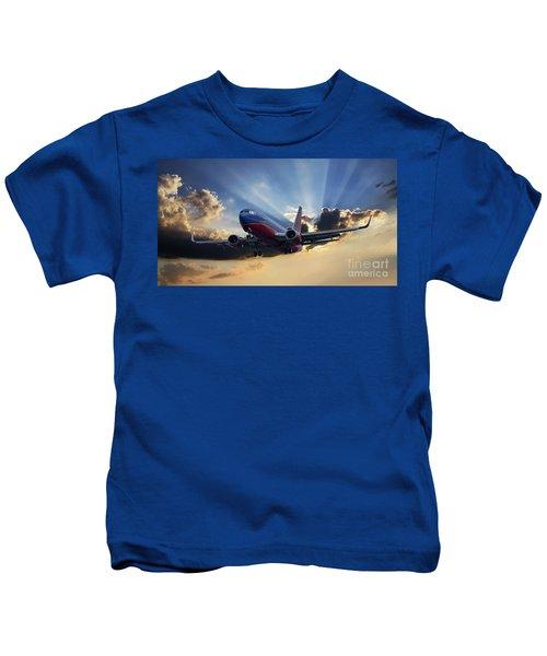 Southwest Dramatic Rays Of Light Kids T-Shirt