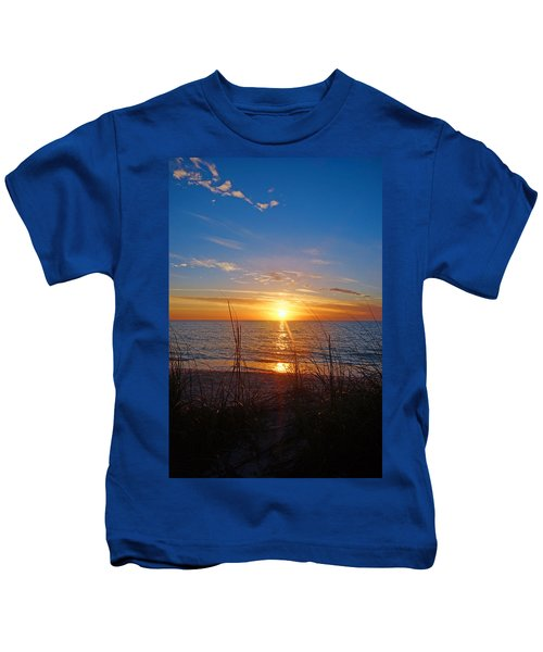 Southwest Florida Sunset Kids T-Shirt