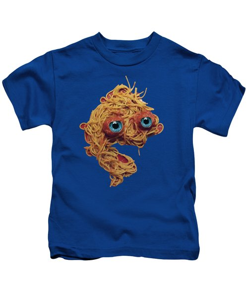 Spaghetti Face Kids T-Shirt