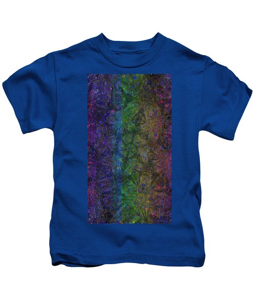 Spiral Spectrum Kids T-Shirt