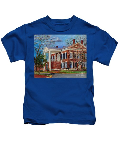 Spring Planting At The Dahlonega Gold Museum Kids T-Shirt