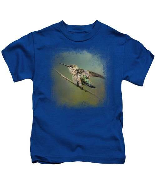 Spring Storm Hummingbird Kids T-Shirt