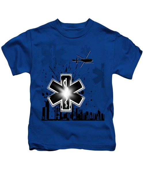 Star Of Life Graphic Kids T-Shirt by Melissa Smith