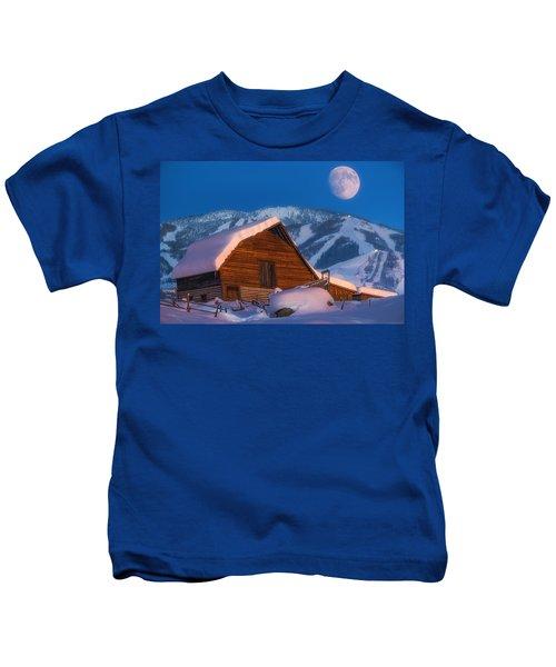 Steamboat Dreams Kids T-Shirt