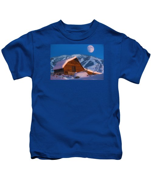Steamboat Dreams Kids T-Shirt