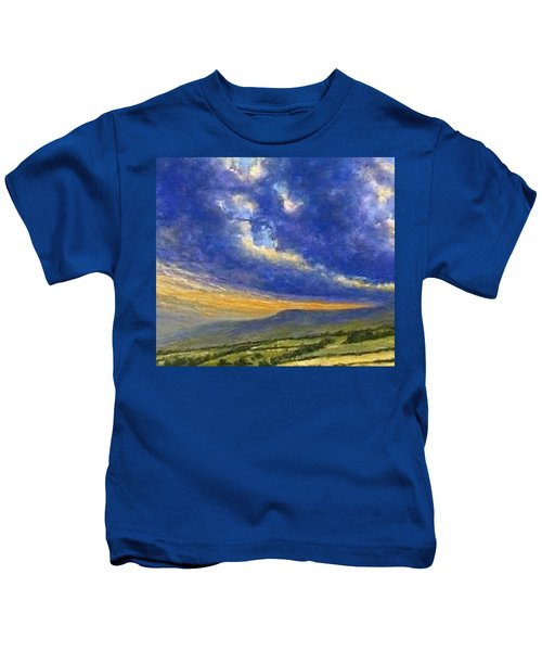 Storm Brewing In Donegal Kids T-Shirt