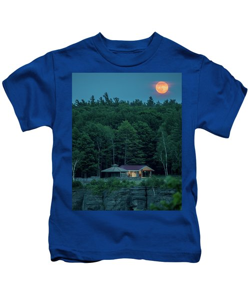 Strawberry Moon Kids T-Shirt